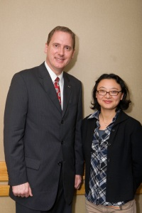 Chuck DeVore and Joanna Wang